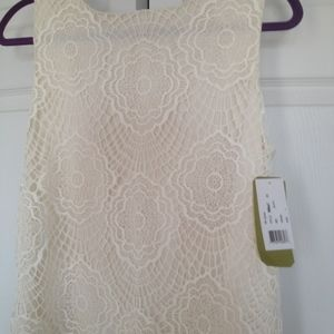 New with tag .Lace  dress Nicole Miller .Large.